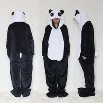 Flannel Lovers Women Unisex Panda Pajamas One P... - $28.88