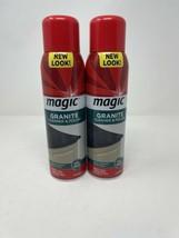 Magic Granite Cleaner & Polish Aerosol 17 oz Discontinued Lot Of 2 - $64.35