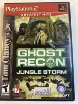 Tom Clancy's Ghost Recon: Jungle Storm (PlayStation 2 PS2, 2004) - $2.99