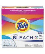 Laundry Detergent With Bleach, Tide Original Scent, Powder, 144 Oz Box, ... - $204.41 CAD