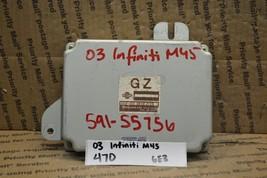 2003 Infiniti M45 Transmission Control Unit TCU A64000NK9 Module 470-6E3 - $18.49