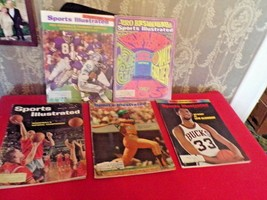 LOT of 5 Sports Illustrated Magazines-1960's - $24.75