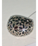 New Coach Flower Domed Ring Size 6 - $45.00