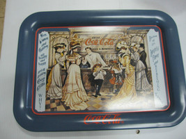 "Coca Cola ""  Old Time Soda Fountain ""Metal TV Tray - New - - $13.37"