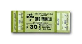 GINO VANNELLI AUTHENTIC 1976 ORIGINAL CONCERT TICKET 09/30/76 - $49.95
