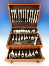 Rosemont by Gorham Silverplate Flatware Set Service 114 pc Huge Circa 1930 Roses - $2,100.00