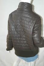 BABY PHAT Jacket Puffer Leather Kimora Lee Simmons Brown Coat XX-Large image 2