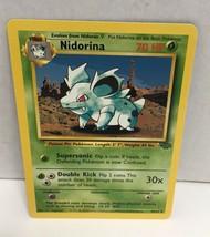 Nidoran 57/64 Pokemon Card TCG Jungle Set NM Great Condition - $2.54
