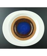 5 Rosenthal Continental TRIO Saucer Studio Line blue brown mid-century M... - $24.74
