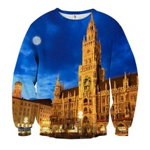 Central Square Amazing Night View Cool Sweatshirt - $36.99