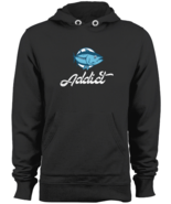 Fishing Addict Hoodie Swestshirt outfit fishing gifts for men Black S-2XL - $43.95
