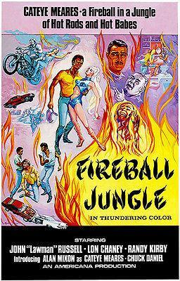 Primary image for Fireball Jungle - 1968 - Movie Poster
