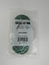 Belkin Cat5e Patch Cable RJ45M/RJ45M; 7' Green, A3L791-07-GRN - $8.16