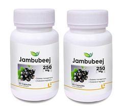 Krishna Biotrex Nutraceuticals Jambubeej, Cholesterol regulator 250mg - ... - $49.24