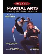 Inside Martial Arts: Muay Thai, Edged Weapons, Combat Wing Chun DVD Cast... - $23.50