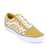 Vans Old Skool Lite Sneakers, Ochre/True White, VN0A2Z5WR2J (US 10 (Men)... - $49.49