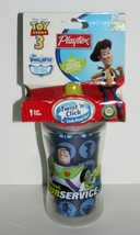 Toy Story 3 Sippy Cup, Buzz Baby Toddler Disney Child Drink Travel, Playtex - $18.52
