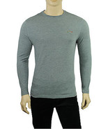 NEW MENS GREG NORMAN FOR TASSO ELBA PERFORMANCE LONG SLEEVE GRAY  T SHIRT S - $12.99