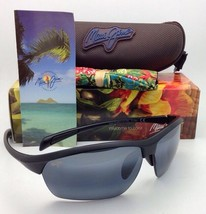 Maui Jim Sonnenbrille Stein Crushers Mj 429-2M Matt Schwarz W / Polarisi... - $199.57