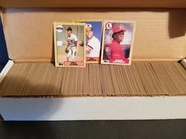 1987 Topps Complete Baseball Set #1-792 ( Barry Bonds RC ) - MLB - $46.50