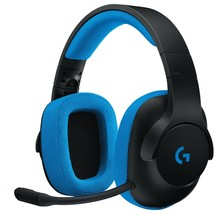 Logitech G233 Prodigy Wired Gaming Headset - Stereo - Mini-phone - Wired - 32 Oh - $63.60