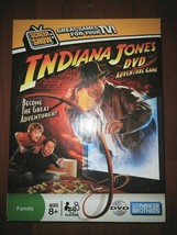 Indiana Jones Dvd Adventure Game Board Game By Parker Brothers ~ Complete Euc - $4.99