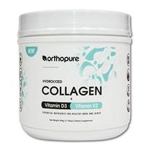 Orthopure Collagen Peptides Fortified with Vitamin D3 and Vitamin K2, 18g Collag image 12