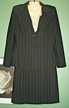 NEW ANNE KLEIN 2 PC Pinstripe Skirt Suit Size 10 - $49.50