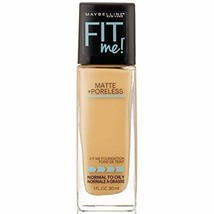30ML Maybelline New York Fit Me Matte with Poreless Foundation,220 Natur... - $15.69