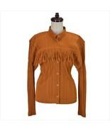 issey miyake pleats please ladies' long sleeve blouse brown fringe size: 3 - $222.99