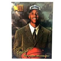 Stephon Marbury Rookie Card 1996-97 Fleer Metal #134 Minnesota Timberwolves - $4.90