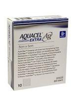 """Aquacel AG Extra Silver Hydrofiber Wound Dressing 5cm x 5cm, 2""""x2"""" x10 420671 - $44.95"""