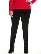 Lane Bryant Skinny Velvet Pants sz 26 Tummy Slimming Versatile - $38.95