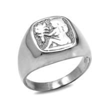 argento sterling VERGINE DA UOMO SEGNO ZODIACALE anello - $49.99