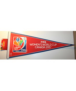 "Fifa Womens World Cup 2015 30"" Long Pennant Canada Soccer Football - $23.40"