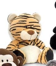 Keel Toys 30cm Pudgey Wild Tiger Soft Toy - $7.60