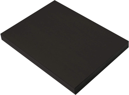 SunWorks Heavyweight Construction Paper, 9 x 12 Inches, Black, 100 Sheets - $3.99+