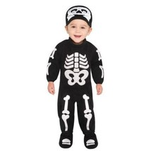 Bitty Bones Skeleton Costume Infant 6-12 Months - $35.69