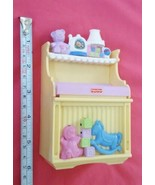 2007 Mattel Baby Changing Table Pad Diaper Change Station Fisher-Price Toy - $18.70