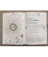 Bullet Journal Kit: Dot Grid Notebook+Washi Tape+Template Stencils+Color... - $36.91