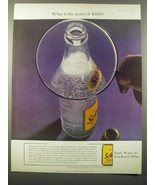 1965 Schweppes Tonic Water Ad - What is the secret of Schhh? - $14.99