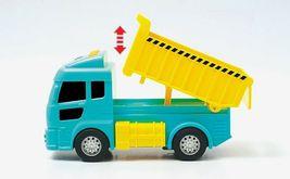 Zeus Toys Motion Sensor Melody Light Dump Truck Car Vehicle Toy image 3