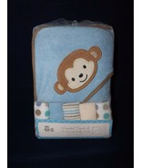 Crib Mates Monkey Hooded Towel & 5 Washcloths Set - Brand New - $19.99