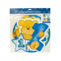 Blue Boy First Birthday Party Cutouts PA854 - £37.73 GBP
