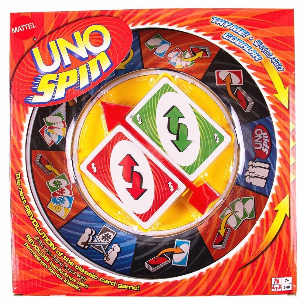 Primary image for Mattel UNO SPIN Board Game