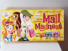 2004 Mall Madness Electronic Shopping Board Game, COMPLETE! **FREE SHIPP... - $20.99