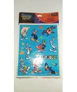 Vintage Looney Tunes Stickers Studio VTG NIP Hallmark Heartline MOC - $9.89