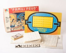 Family Feud Game Show Vintage Board Game 3rd Edition 1978 Milton Bradley 4723 - $34.65