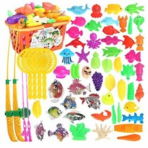 George Jimmy Children Intelligence Fishing Toys/ Rods/Magnetic Puzzle Pl... - $36.20