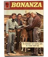 Bonanza-Four Color Comics #1283 1962-Dell-Lorne Greene-VF- - $151.32